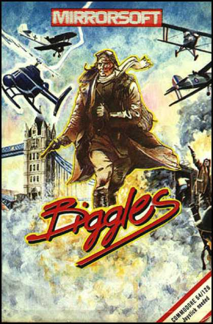 C64 Games - Biggles
