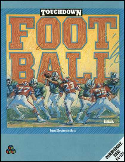 C64 Games - Touchdown Football