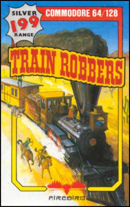C64 Games - Train Robbers