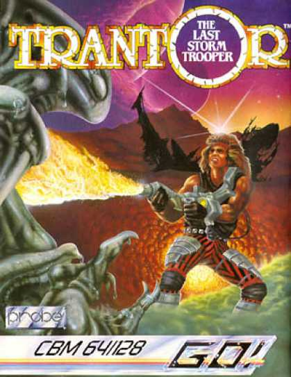 C64 Games - Trantor: The Last Storm Trooper