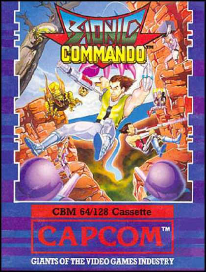 C64 Games - Bionic Commando