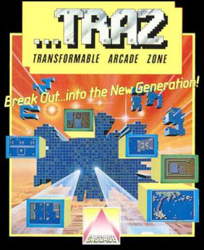 C64 Games - TRAZ: Transformable Arcade Zone
