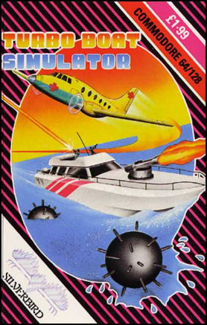 C64 Games - Turbo Boat Simulator