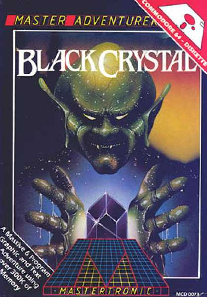 C64 Games - Black Crystal