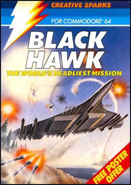 C64 Games - Black Hawk