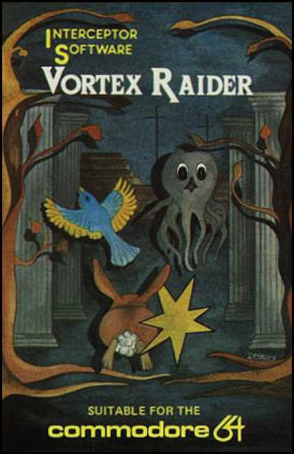 C64 Games - Vortex Raider