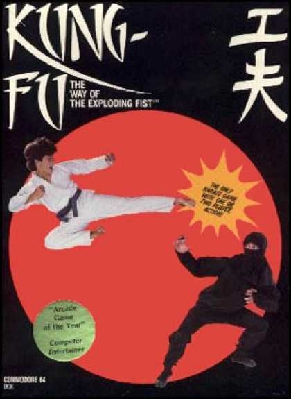 C64 Games - Kung Fu