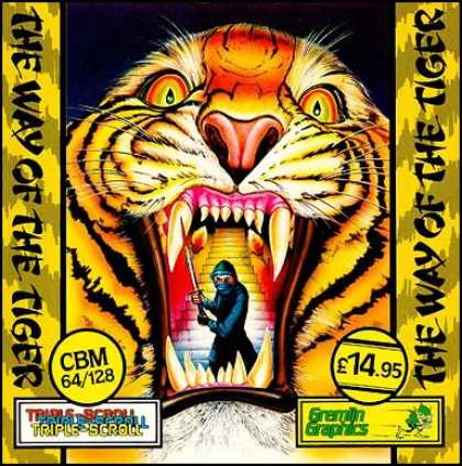 C64 Games - Way of the Tiger