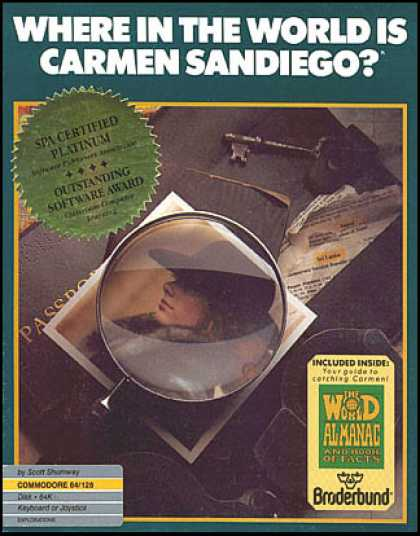C64 Games - Where in the World is Carmen Sandiego?