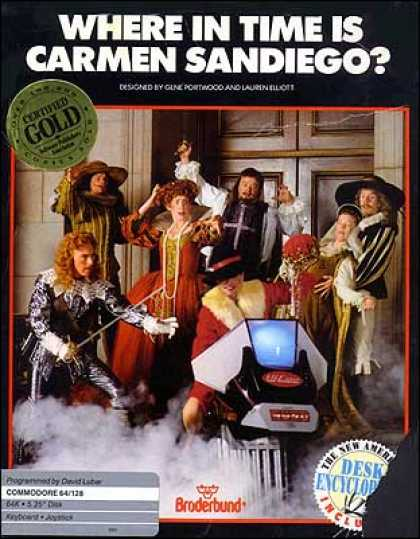 C64 Games - Where in Time is Carmen Sandiego?