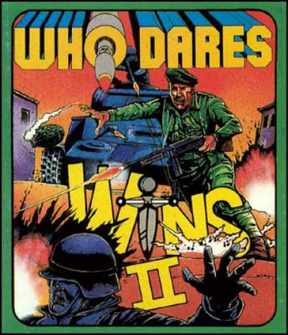C64 Games - Who Dares Wins II