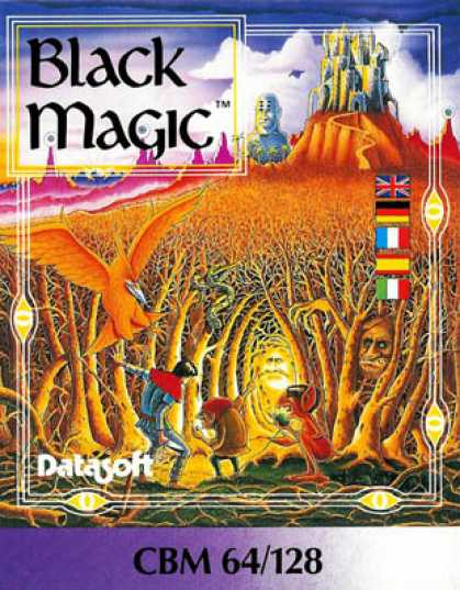 C64 Games - Black Magic