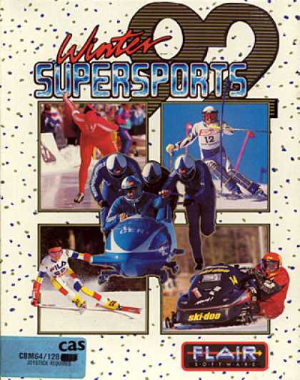 C64 Games - Winter Supersports 92