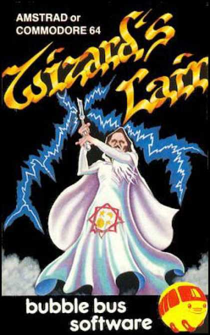 C64 Games - Wizard's Lair