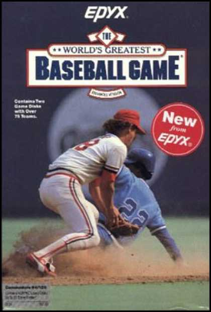 C64 Games - World's Greatest Baseball Game, The