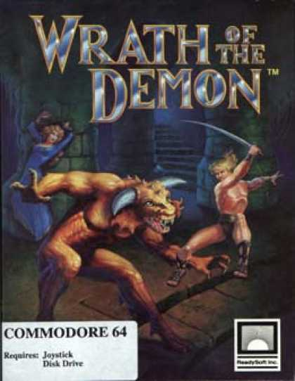 C64 Games - Wrath of the Demon