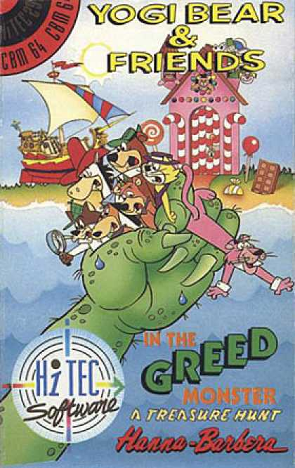 C64 Games - Yogi Bear & Friends in the Greed Monster