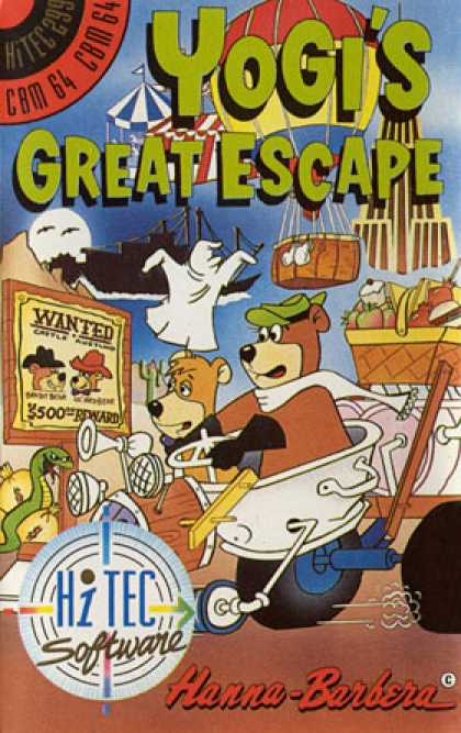 C64 Games - Yogi's Great Escape