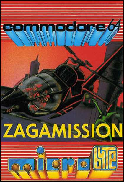 C64 Games - Zaga Mission