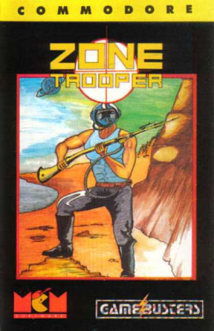 C64 Games - Zone Trooper