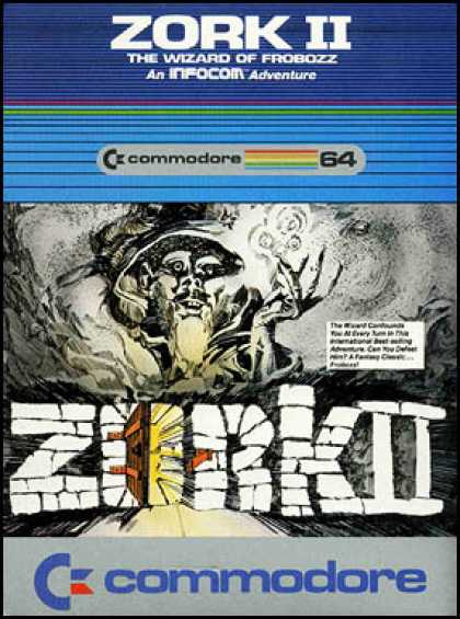 C64 Games - Zork II: The Wizard of Frobozz