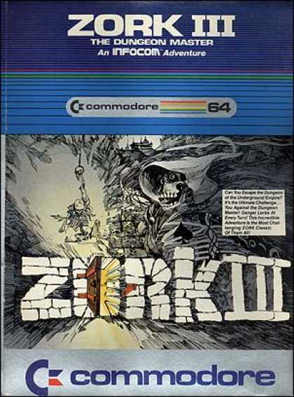 C64 Games - Zork III: The Dungeon Master