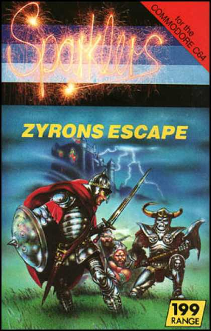 C64 Games - Zyrons Escape