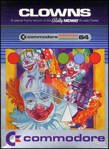 C64 Games - Clowns
