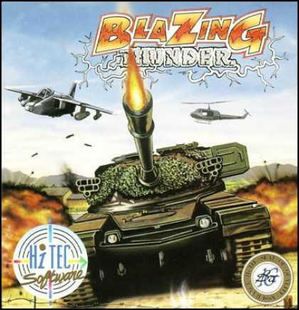 C64 Games - Blazing Thunder