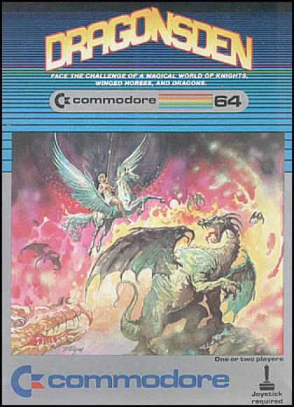 C64 Games - Dragonsden