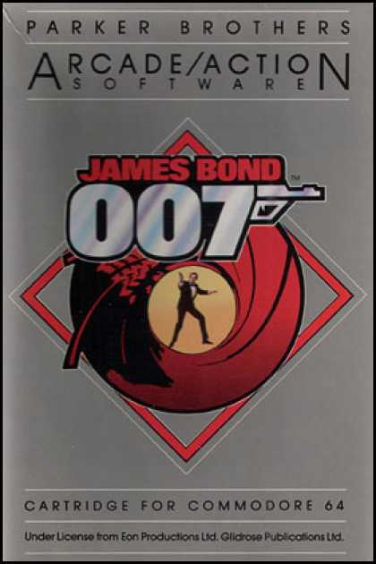 C64 Games - James Bond