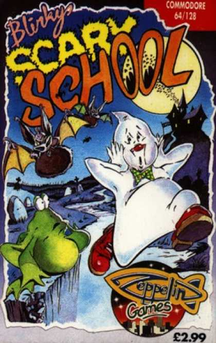 C64 Games - Blinky's Scary School