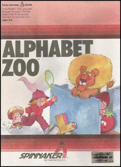 C64 Games - Alphabet Zoo