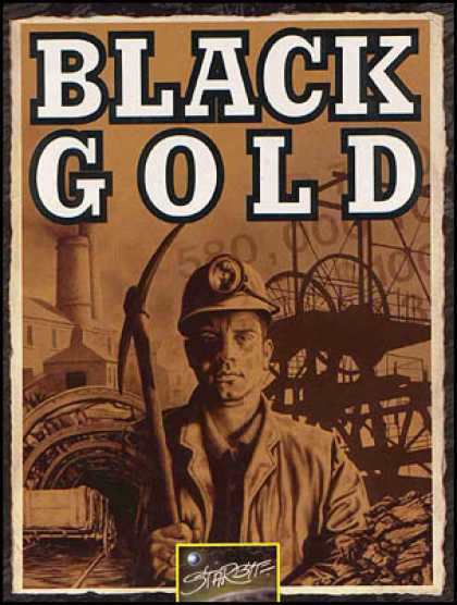 C64 Games - Black Gold
