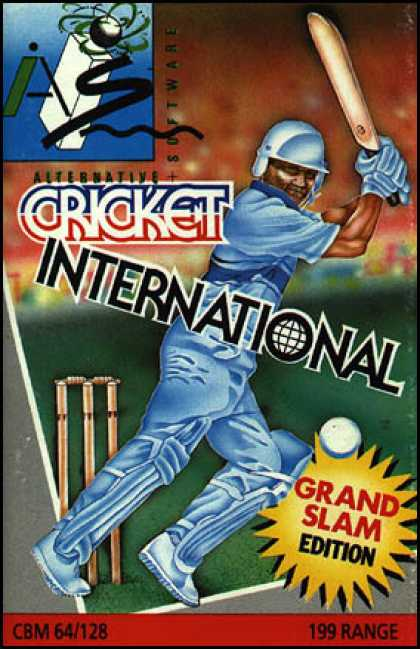 C64 Games - Cricket International