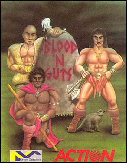 C64 Games - Blood 'n Guts