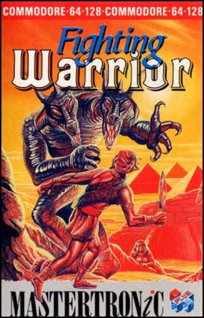 C64 Games - Fighting Warrior