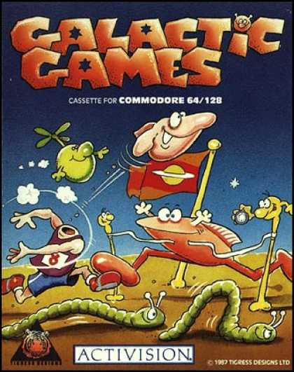 C64 Games - Galactic Games
