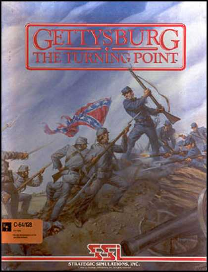 C64 Games - Gettysburg: The Turning Point