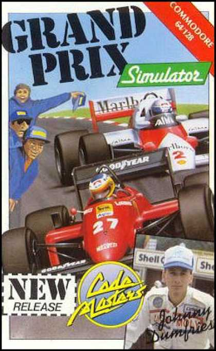 C64 Games - Grand Prix Simulator