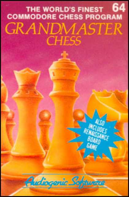 C64 Games - Grandmaster Chess