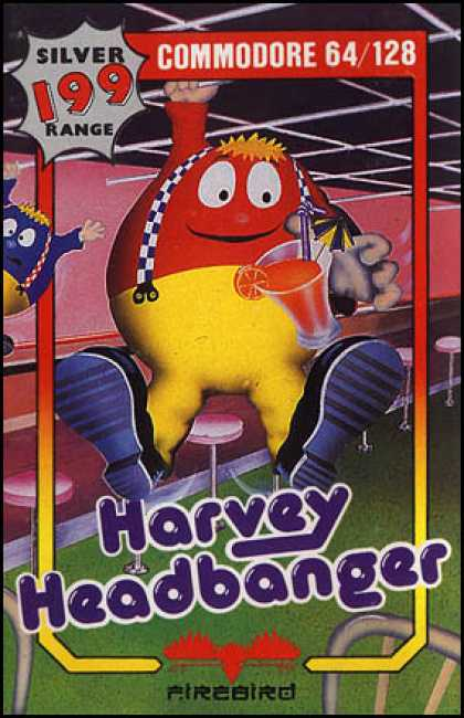 C64 Games - Harvey Headbanger
