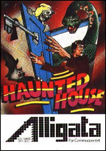 C64 Games - Haunted House