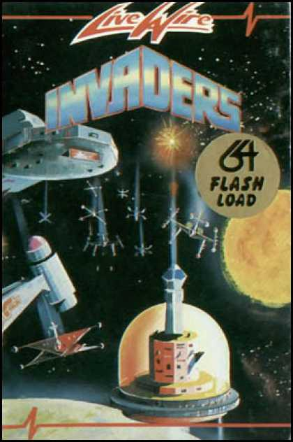 C64 Games - Invaders 64