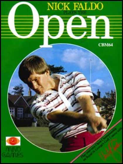C64 Games - Nick Faldo Plays the Open