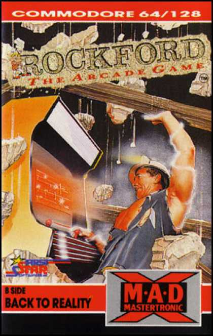 C64 Games - Rockford: The Arcade Game