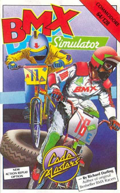 C64 Games - BMX Simulator