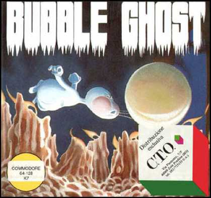 C64 Games - Bubble Ghost