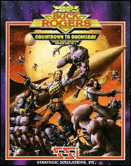 C64 Games - Buck Rogers: Countdown to Doomsday