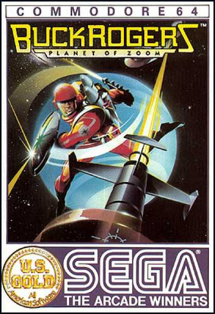 C64 Games - Buck Rogers: Planet of Zoom